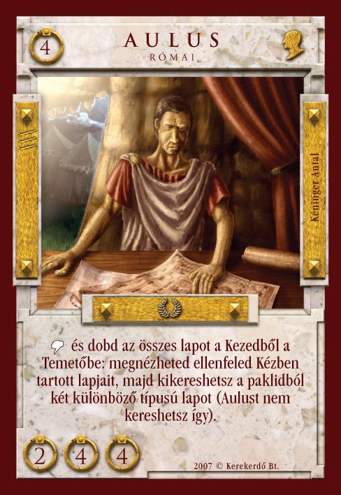 Imperátor Kártyajáték :: Aulus